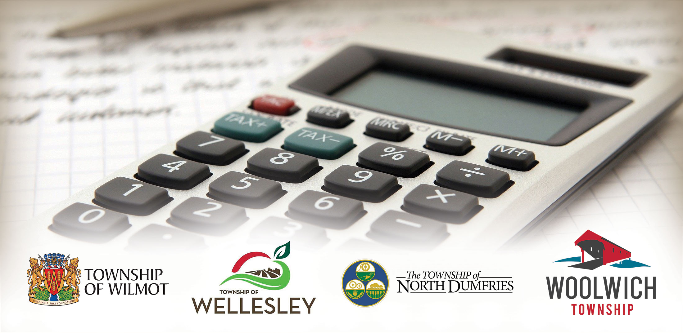 bottom line taxes townships rural woolwich north dumfries wellesley wilmot