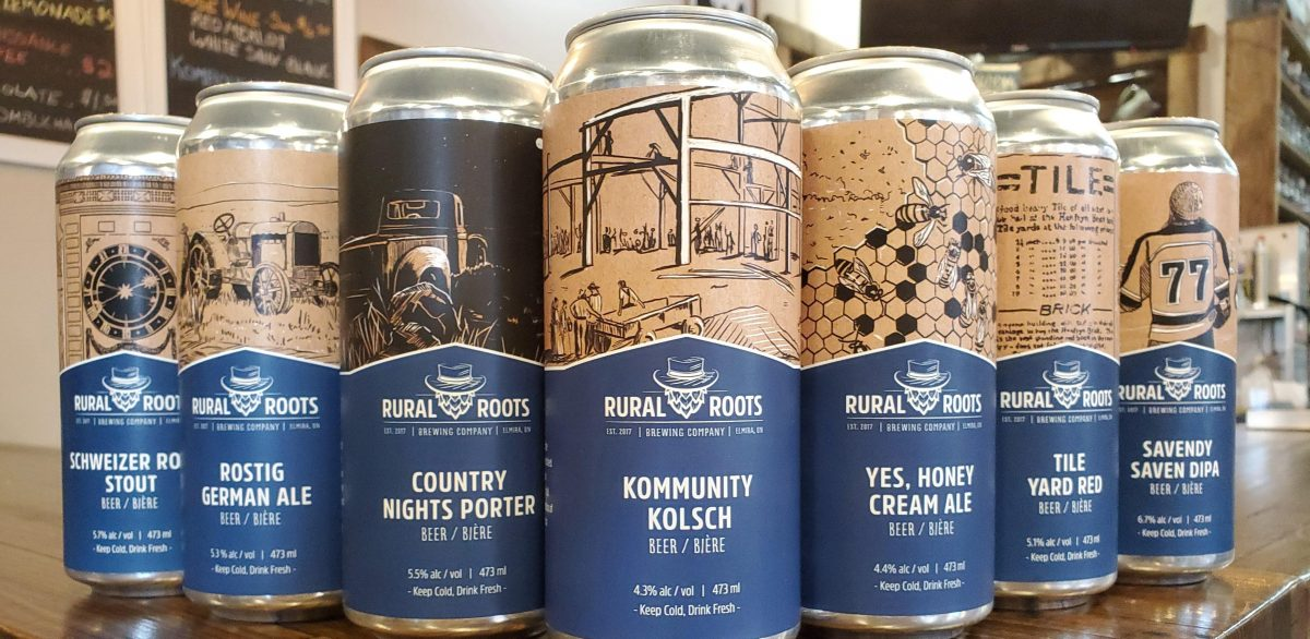 local brewery rural roots beer