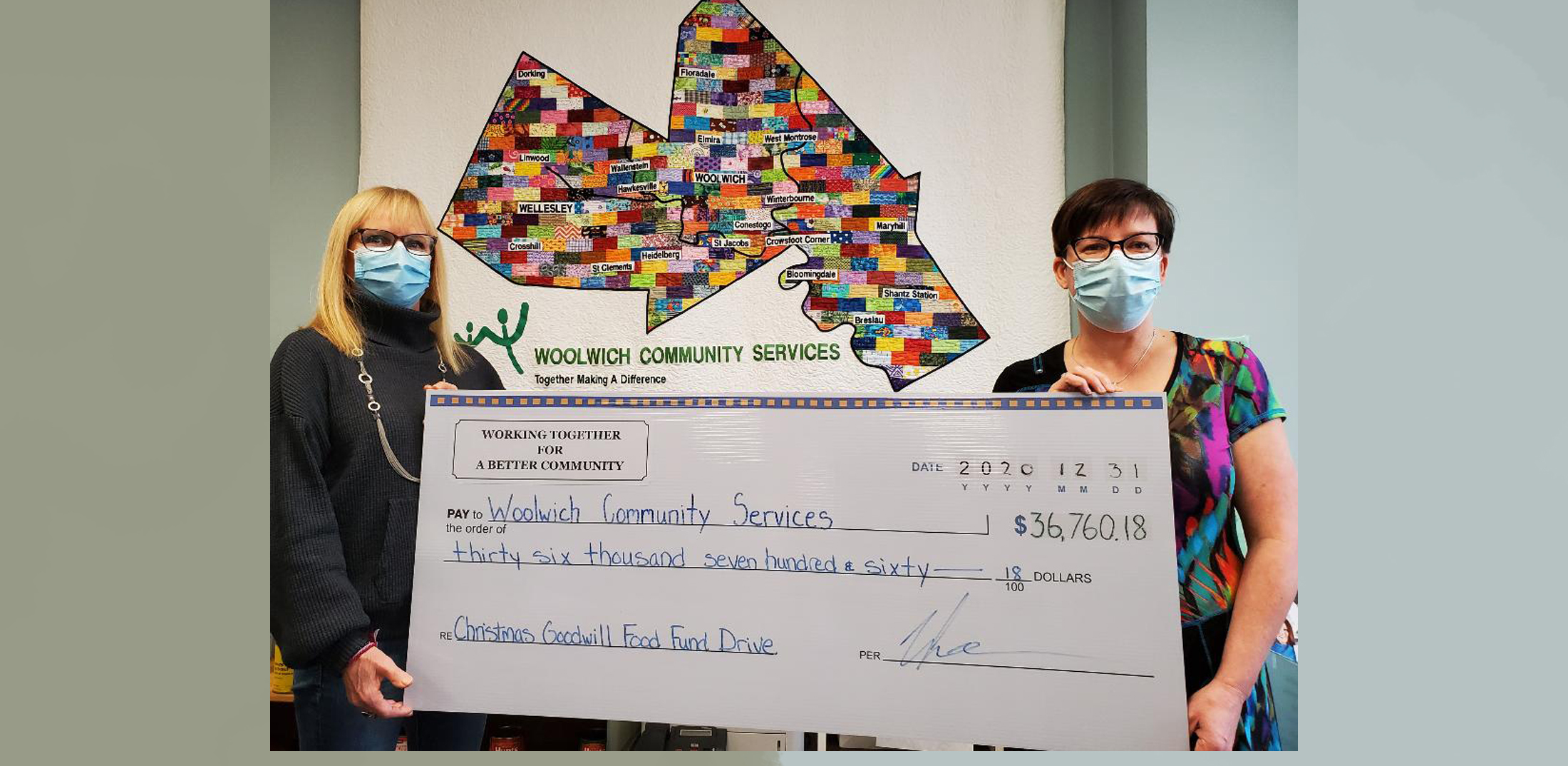 community fundraiser helping donating donations fundraiser woolwich